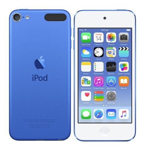 Multi Touch Interface - Apple iPod Touch 32GB Blue MKHV2LL/A (6th Generation)