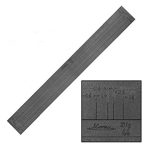 Martelli 44'' Strip Ruler with Multiple Widths by Martelli