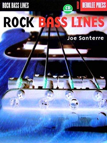 ROCK BASS LINES CD/PKG BERKLEE (Pkg Rock)