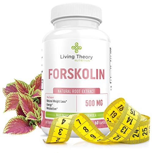Forskolin Nourishing Diet Pills - Pure Natural Forskolin for Weight Loss, Max Strength Appetite Suppressant, Metabolism Booster, Carb Blocker & Fat Burner for Women and Men Coleus Forskohlii- 500mg 60 (Best Weight Loss Pill On The Market 2019)