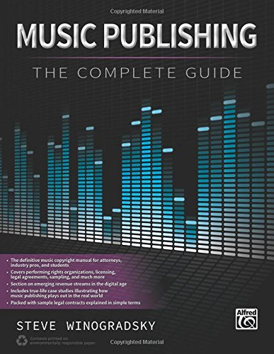 music publishing the complete guide steve winogradsky rh amazon com Artist Management in New York Hip Hop Artist Management
