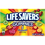 LifeSavers Gummies, 5 Flavor, 3.5-Ounce Boxes (Pack of 12)