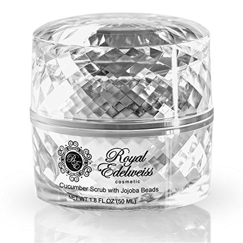 Refining Platinum: Royal Edelweiss Skincare Platinum Cucumber Refining Scrub