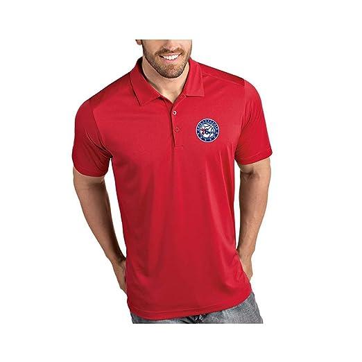 WLDSH Polo Camisa de Punto de Verano Camiseta de Manga Corta NBA ...