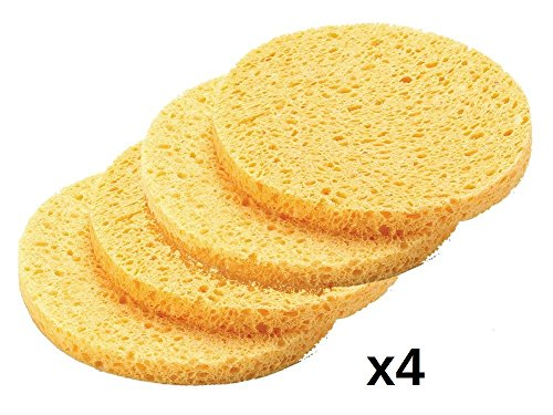 DMtse 4pcs Professional Make Up Remover Sponges