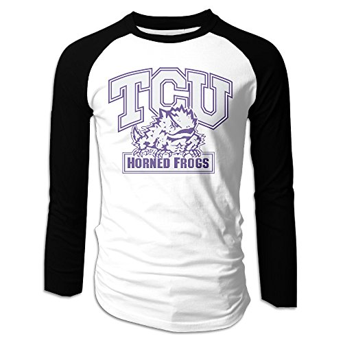 GAVI Texas Christian University 01 Men's O-Neck Tee M