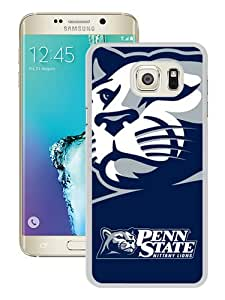 Unique Samsung Galaxy S6 Edge Plus Case ,Fashionable And Popular Designed Case With Ncaa Big Ten Conference Football Penn State Nittany Lions 14 White Samsung Galaxy S6 Edge+ Cover Case Good Quality Phone Case