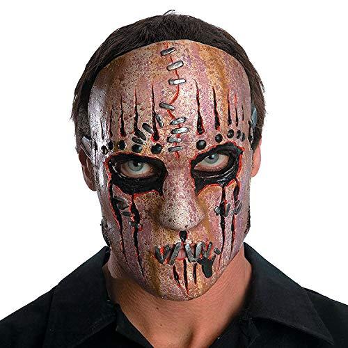 Fun Express - Slipknot Joey Mask for Halloween - Apparel Accessories - Costume Accessories - Masks - Halloween - 1 Piece]()