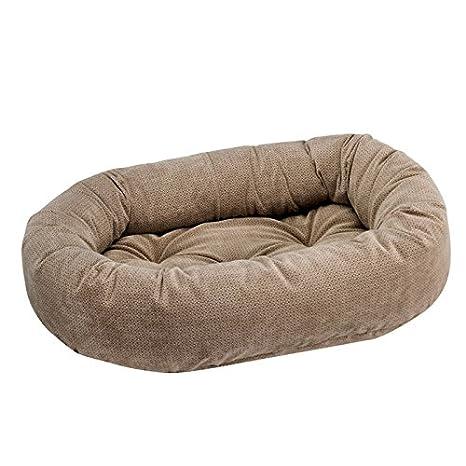 bowsers Diamond serie Microvelvet Donut cama para perro: Amazon.es: Productos para mascotas