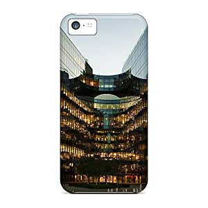 Premium Glass Building In London Heavy-duty Protection Case For Iphone 5c