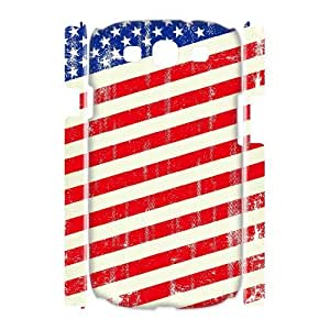 HB-P-CASE DIY Design American Retro Flag Pattern Phone Case For Samsung Galaxy S3 I9300