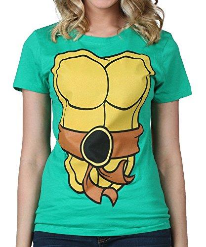 [Mighty Fine womens Womens I Am TMNT Costume T-Shirt 2X] (Ninja Turtle Female Costumes)