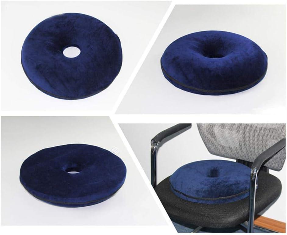 Cuscino per seduta per Post Natal Cuscino per sedile coccige Cuscino per alleviare il dolore al coccige per sedie da ufficio Seggiolino per auto Cuscino per ciambella per dolore al coccige