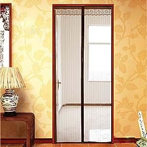 Magnetic Screen Door Premium Full Frame Velcro Mesh