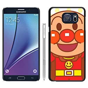 Unique Samsung Galaxy Note 5 Skin Case ,Fashionable And Durable Designed Phone Case With anpanman 1 Black Samsung Galaxy Note 5 Screen Cover Case