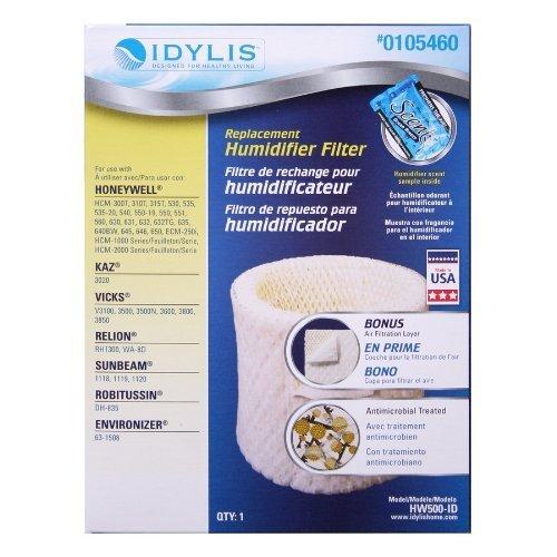 bestair wick filter fits honeywell hw500