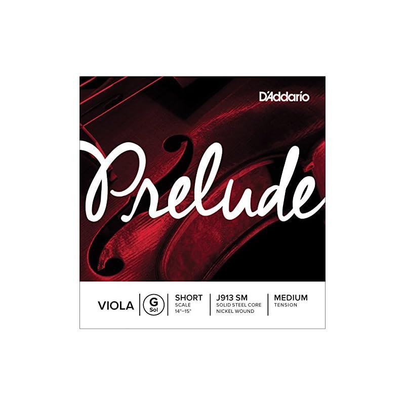 D'Addario Prelude Viola Single G String,