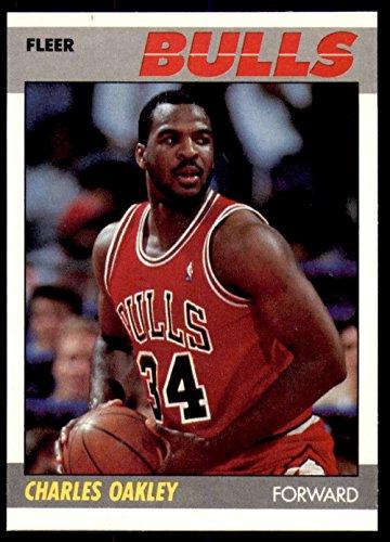 1987-88 Fleer #79 Charles Oakley NM-Mint Bulls