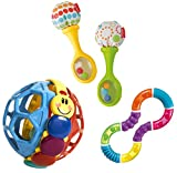 fisher price maracas - Rattle 'n Rock Maracas Musical with Bendy Ball & Figure 8 Teether