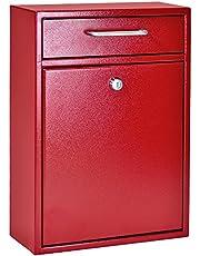 Epoch Design Locking Drop Box Wall Mounted Mailbox