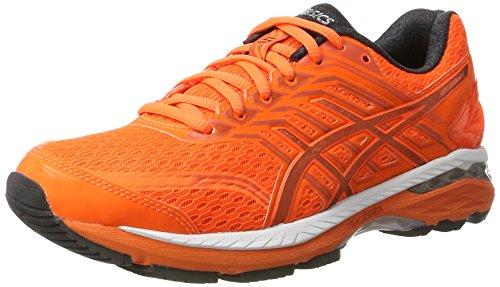 Asics Gt-2000 5, Zapatillas de Entrenamiento para Hombre Naranja (Shocking Orange/dark Grey/spicy Orange)
