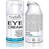 TruSkin Eye Cream, Anti-Aging Formulation Hydrates, Protects & Revitalizes Delicate Skin Around Eyes. 15ml