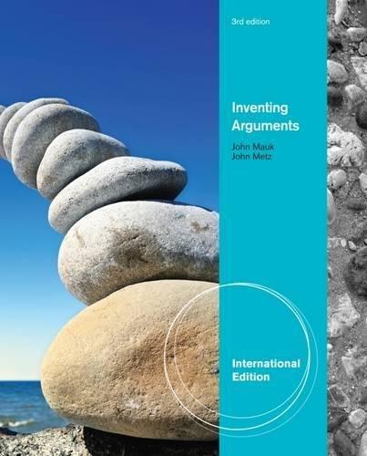 Mauk, J: Inventing Arguments, International Edition: Amazon.es ...