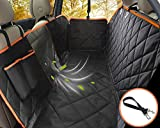 seat protectors for dogs - Lifepul Dog Seat Cover Car Seat Cover for Pets - Waterproof & Scratch Proof & Nonslip Backing & Hammock, Dog Backseat Cover Protector with Mesh Window, Fits for Cars Trucks and SUVs