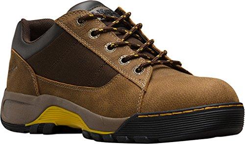 Dr. Martens Mens Piton Eh Safety Toe 5 Eye Shoe Brown gLzJ7