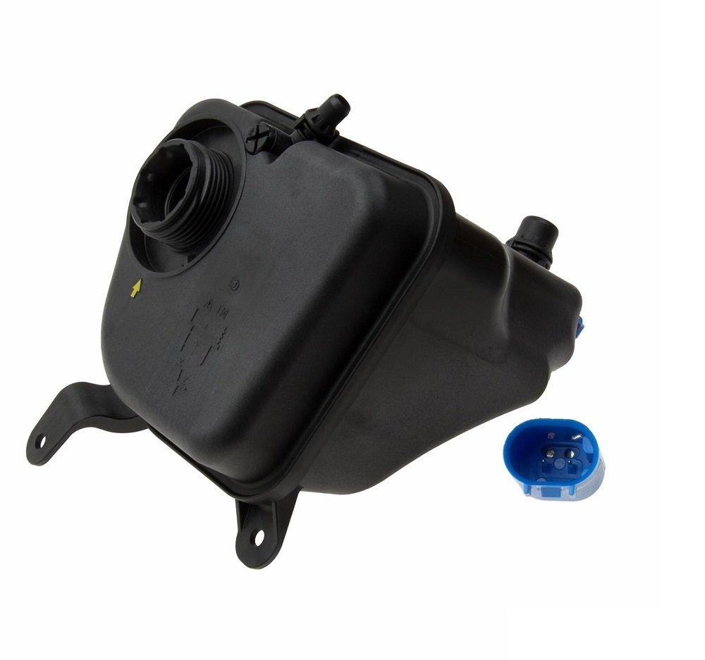 BMW Coolant Reservoir Expansion Tank + Sensor Genuine OE 17137590626 / 17137640515 135i 335i 335i xDrive by BMW