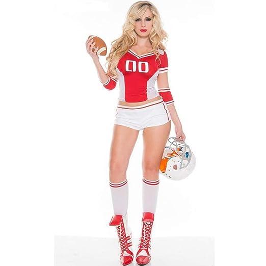 Ambiguity Disfraz de Halloween Mujer Halloween Disfraz Rugby Chica ...