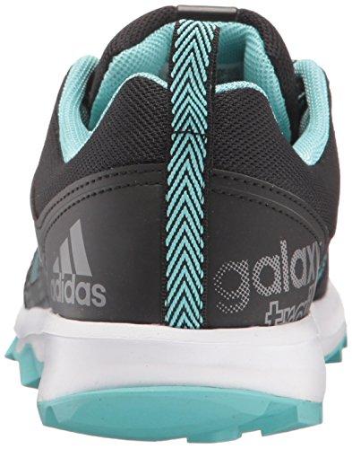 Adidas Prestaties Van Vrouwen Galaxy Trail W Loopschoen Zwart / Gemakkelijk Mint / Wit