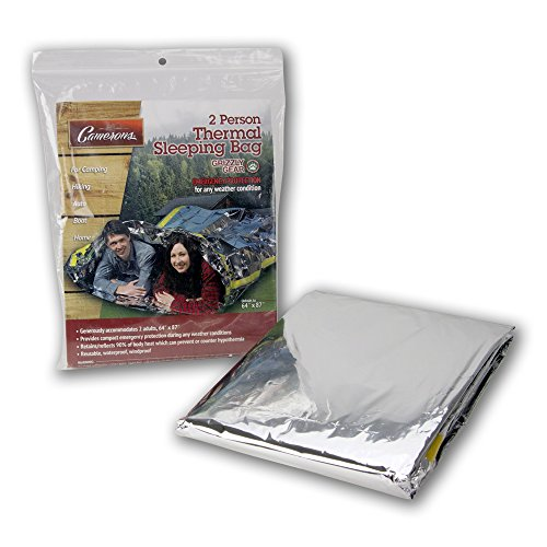 Emergency-Survival-Mylar-Thermal-2-Person-Sleeping-Bag-Accommodates-2-Adults-64-X-87-by-Grizzly-Gear