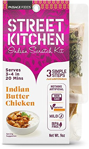 Street Kitchen Kit  Indian Butter Chicken Indian Scratch Kit  9 Ounces Amazon com   Street Kitchen Kit  Indian Butter Chicken Indian  . Amazon Kitchens Of India Butter Chicken. Home Design Ideas