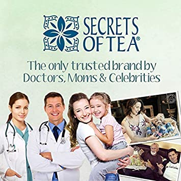 Secrets Of Tea Natural /& USDA Organic Ingredients chemicals /& Preservative-Free Irritability Benzocaine Baby Teething Relief Baby Teething Magic Tea,60 Doses Teething relief for Painful Gums