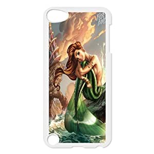 Chaap And High Quality Phone Case FOR Ipod Touch 5 -Mermaid And Ocean Pattern-LiShuangD Store Case 10