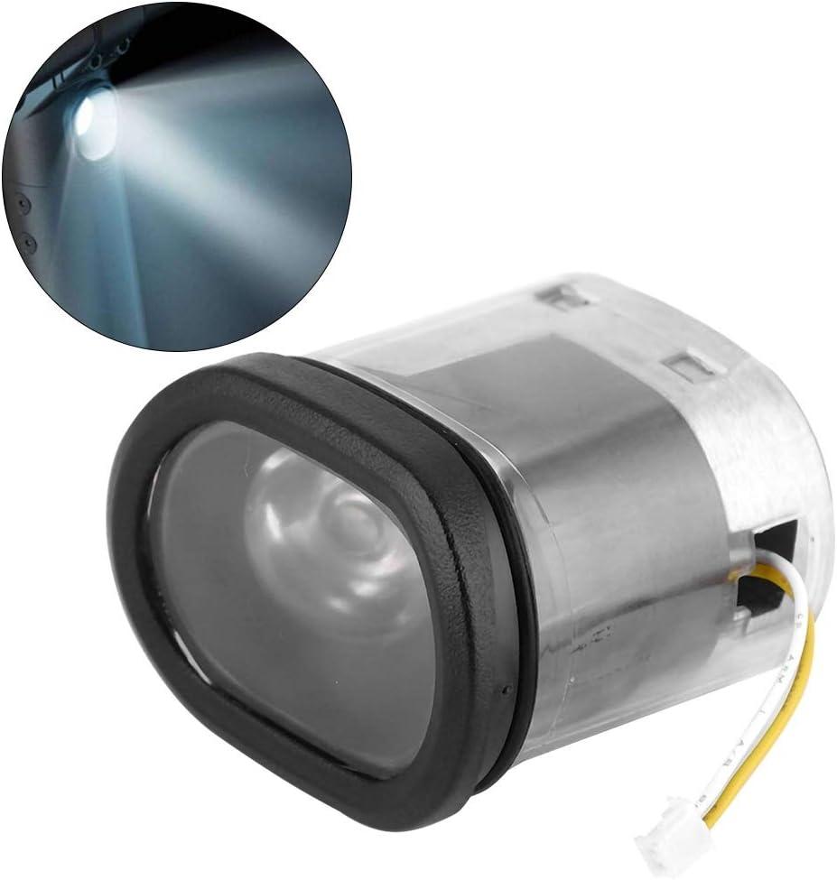 Lampe de phare de phare /électrique Delaman for accessoires de scooter /électrique Xiaomi Ninebot ES2 Phare de phare