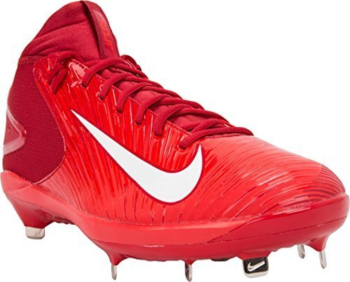 Nike Men's Trout 3 Pro Baseball Cleat (Varsity Red/White Lt Crimson, 7)