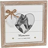 Vintage Shabby Chic Memories Photo Frame Gift With Heart