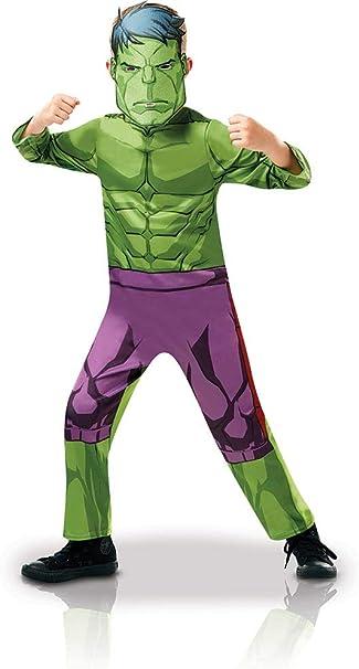 MARVEL con licenza adulti vestito di Hulk Deluxe Costume Supereroe I VENDICATORI