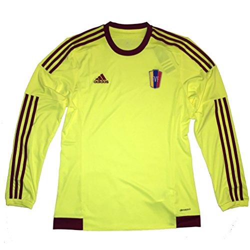 Venezuela Fvf Copa America 2015 Away Jersey Long Sleeve (Medium) ()