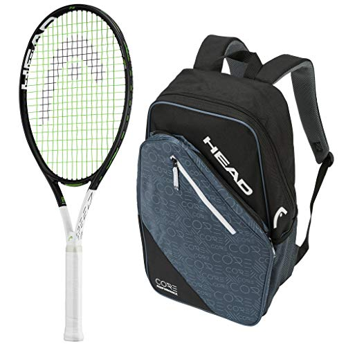 Head 2019 Speed IG 26 Junior Tennis Racquet – Strung with Backpack
