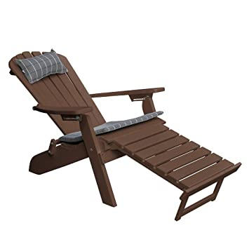 Incredible Amazon Com Poly Folding Reclining Adirondack Chair W Ncnpc Chair Design For Home Ncnpcorg