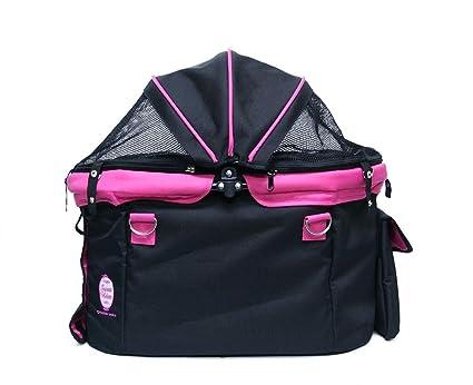 9b77d3174342 ファンタジーワールド ディア・スイートハートカート バッグ 単品 ブラック×ピンク ワンサイズ