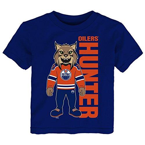 NHL Edmonton Oilers Children Unisex Mascot Pride Short Sleeve Tee, 4T, Navy ()