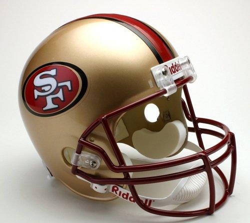 Riddell San Francisco 49ers 1996-2008 Throwback Deluxe Replica Helmet
