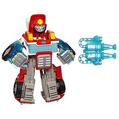 Transformers Playskool Heroes Rescue Bots Energize Heatwave the Fire-Bot Action Figure, Ages 3-7 (Amazon Exclusive)