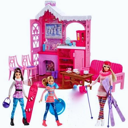 Barbie Winter Family Build Up - Dolls -