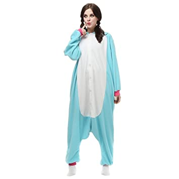 Kenmont Unicorn Pijamas Unisexo Adulto Cosplay Traje Disfraz Animal Pijamas Ropa de dormir de Halloween (