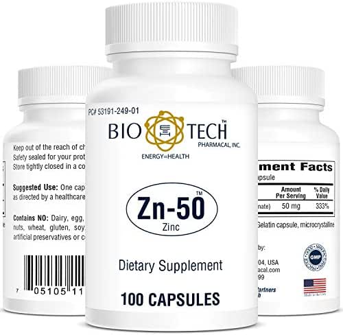 BioTech Pharmacal - Zn-50 - 100 Count